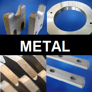 machine knives for the metal cutting industry