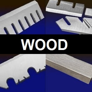 machine knives for the wood cutting industry